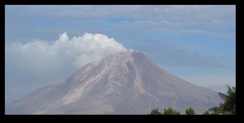 Mount Sinabung, October 22, 2014.  Source