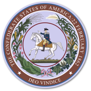Seal of the Confederate States Congress.
