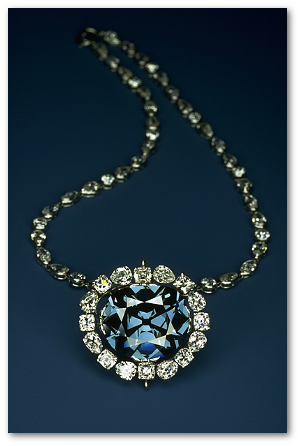 The Hope Diamond.  Image by Chip Clark