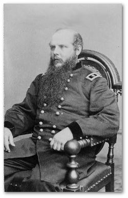General John M. Schofield, USA, commander of the Army of the Ohio.