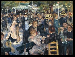 """Renoir's """"Dance at Le Moulin de la Galette."""""""