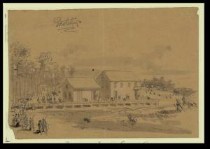 Pocotaligo, South Carolina, by T. R. Davis (Library of Congress)