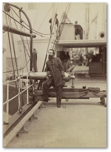 Admiral Porter was a good man to have on your side.  (Library of Congress)