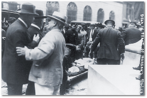 A victim of the 1920 Wall Street bombing.