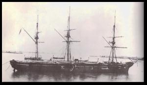 "The ""USS Shawmut"" was one of the few Nipsic-class vessels.  (Source)"