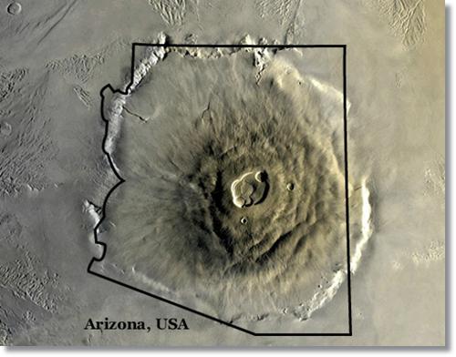 Olympus Mons.  NASA