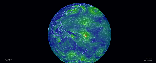 Yes, there are two other tropical cyclones in the area.