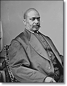 Oscar Dunn was a free man of color and was very active in local and state politics.  (Source)