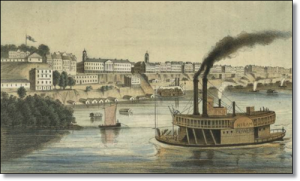 Memphis in the 1850s.  (Source)