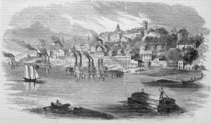 Vicksburg in 1855 (Wikipedia)