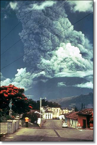 1974 eruption (Image: Paul Newton, Smithsonian)