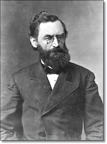 A former German revolutionary, Senator Carl Schurz was one of the Radical Republican leaders in 1865. (Image: Matthew Brady)